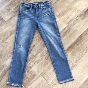 J CREW Point Sur Boyfriend Jeans.